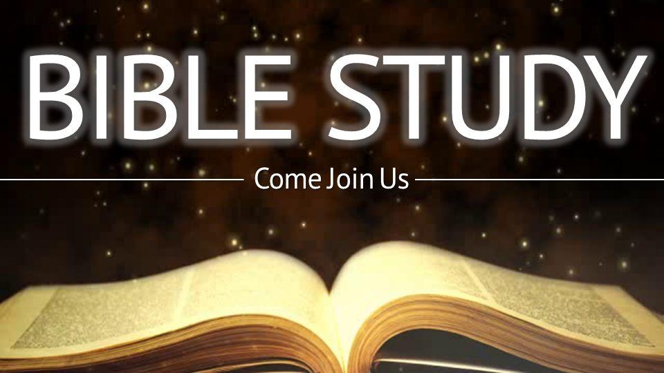 Bible Study - First United Methodist Church, God is ...